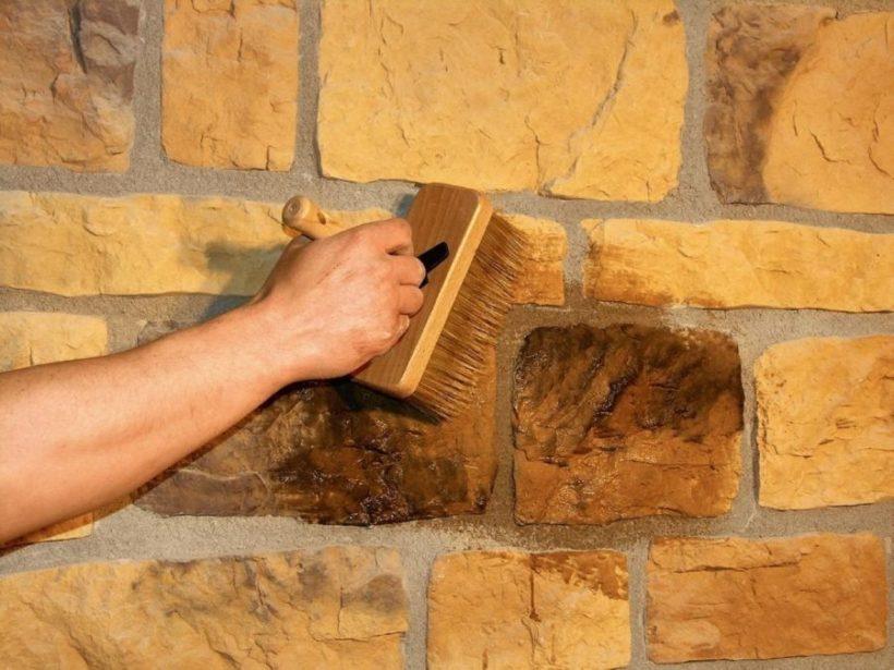 Способы кладки декоративного камня