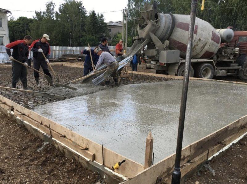 Принципы производства и затвердевания бетона
