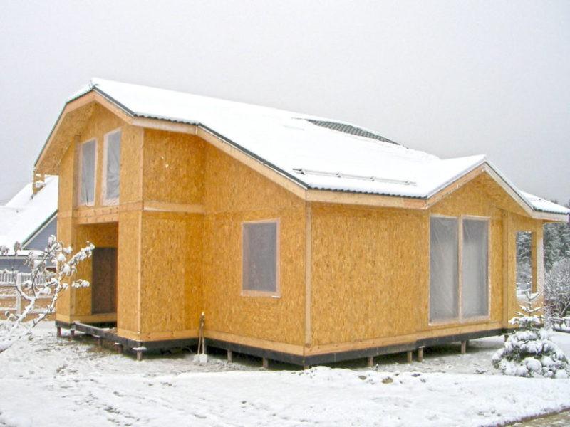 Плюсы и минусы строительства домов из сип-панелей, разберем подробно