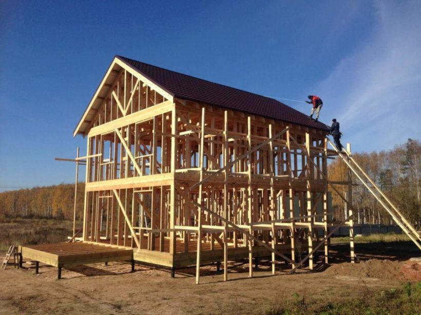 Каркасные дома как один из вариантов загородного строительства