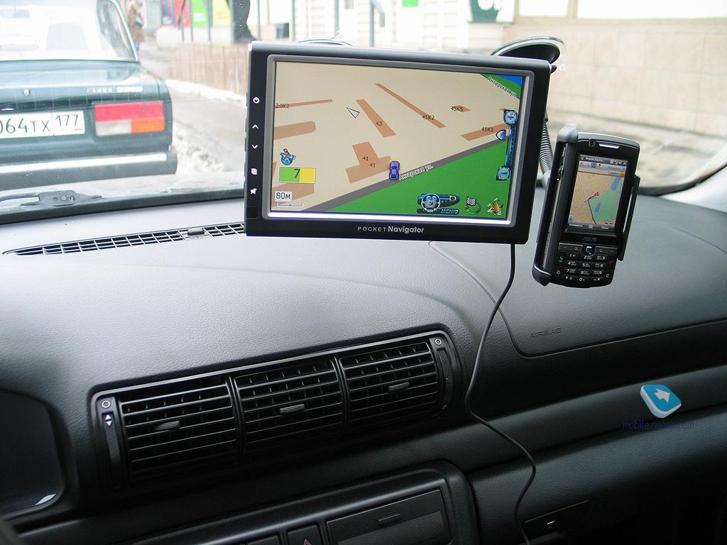 Выбираем gps-навигатор