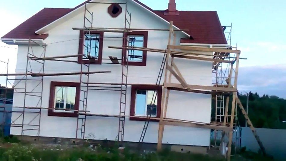 Утепление фасадов «мокрым» способом