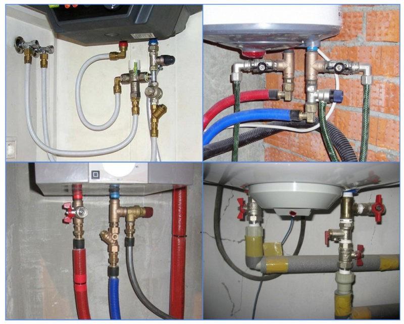 Подключение водонагревателей. Особенности процедуры