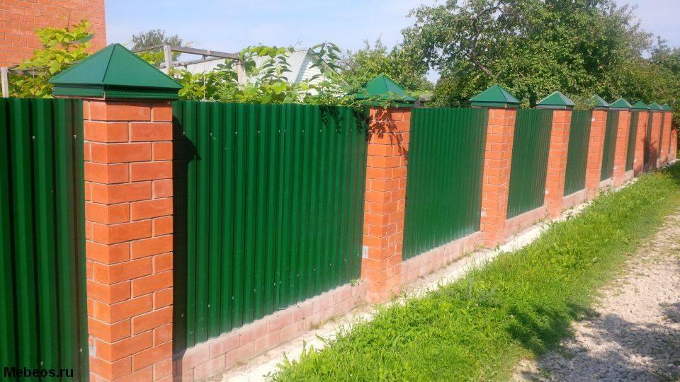 Ставим забор на дачном участке
