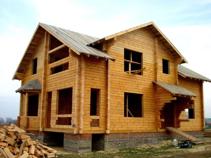 Строительство загородных домов приобретает популярность!
