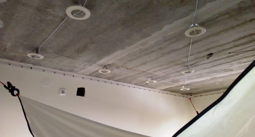 Подготовка помещения к установке натяжных потолков