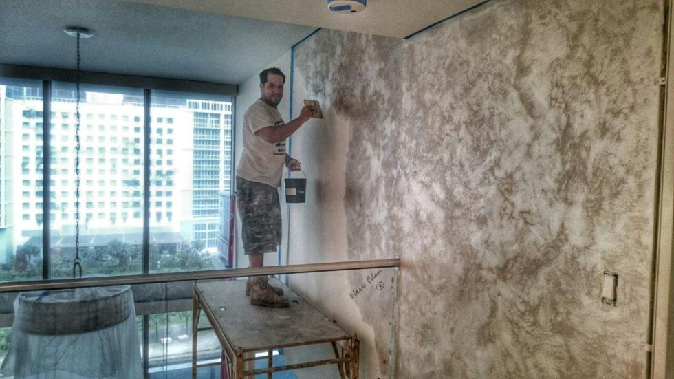 Современные технологии декоративного покрытия стен