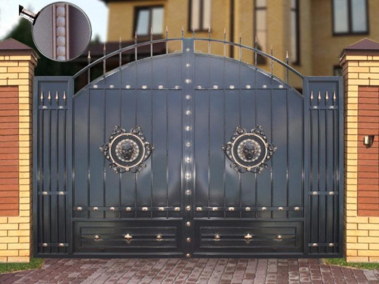 Красивые и качественные кованые ворота g gate