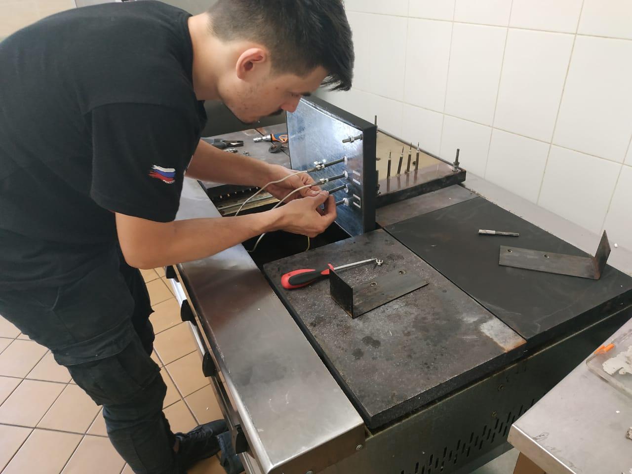 Профилактика и ремонт электроплит